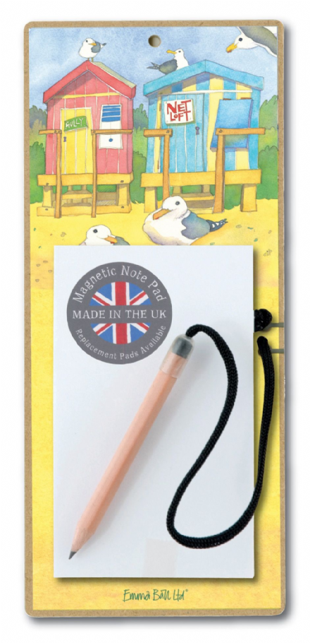 Seaside Magnetic Notepad